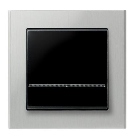 Łącznik jednobiegunowy ŁP-1RS/33 ramka aluminiowa seria Sonata OSPEL