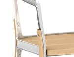 Drewniane krzesło Steelwood DECOINA - zdjęcie 6