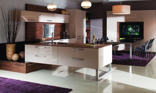 Zobacz galerię zdjęć Aranżacje kuchni – kuchnia w salonie   -> Kuchnie W Salonie