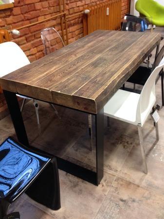 Stół drewniany Indistrial Living LOFT76