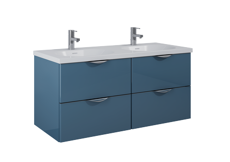 Łazienkowa szafka podumywalkowa Ambio 120 4S Blue ELITA