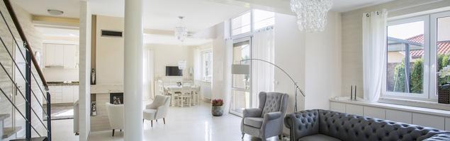 Stylizowane meble do salonu w stylu nowoczesnym