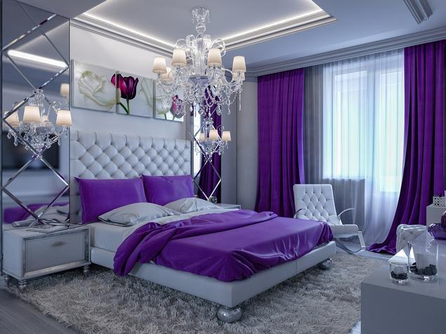 Zobacz galerię zdjęć Nowoczesna sypialnia w stylu glamour ...