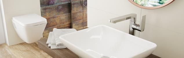 Umywalka nablatowa Gardenia od Deante – prostota i elegancja w ceramicznej oprawie