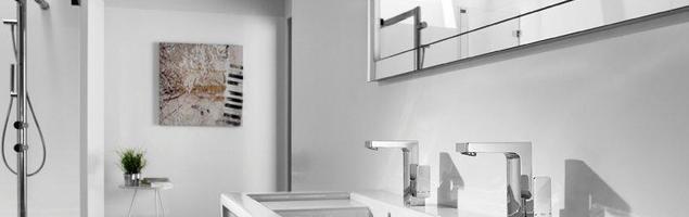 Baterie łazienkowe – wzornictwo w stylu industrialnym