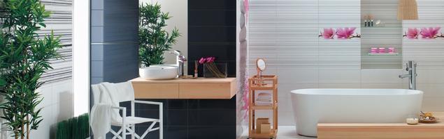 Kosmopolityczna aranżacja łazienki